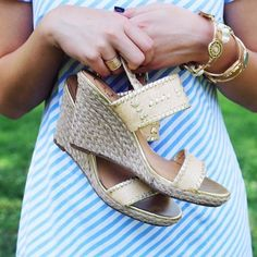 MAHI GOLD is officially restocked at our Newport, RI store! #jackrogers