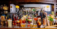Experts name the world's best spots for drinking.