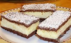 Delicious cake with quark filling - Kuchen Rezepte Quick Dessert Recipes, Easy Desserts, Sweet Recipes, Cake Recipes, Czech Recipes, Indian Food Recipes, Recipe For 4, Sweet Cakes, Savoury Dishes
