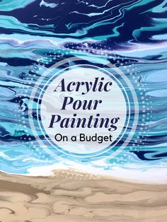 Want to try acrylic pour painting on a budget? This article will show you how. Want to try acrylic pour painting on a budget? This article will show you how. Glue Painting, Marble Painting, Acrylic Painting Lessons, Painting Tips, Beginner Painting, Painting Tutorials, Acrylic Tips, Acrylic Craft Paint, Pallet Painting