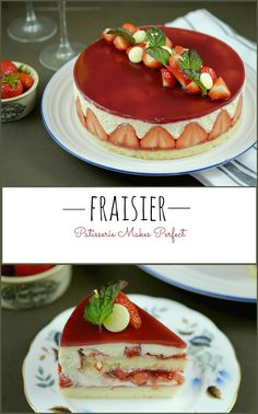 The perfect Fraisier, fit for summer #recipe