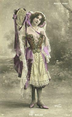 An Unknown Moulin Rouge Dancer In Paris, France, Circa Late . Moulin Rouge Dancers, Moulin Rouge Paris, Le Moulin, Vintage Photos Women, Vintage Photographs, Vintage Ladies, Moulin France, Paris France, Seductive Dance