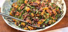 Butternut Squash & Wild Rice Hemp Salad #hemprecipe