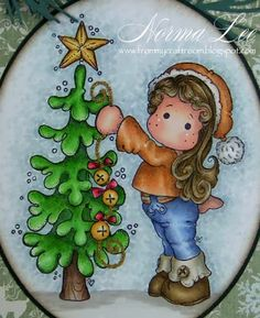 From My Craft Room Cute Christmas Cards, Christmas Bags, Christmas Pictures, All Things Christmas, Handmade Christmas, Step Cards, Magnolia Colors, Scrapbooking, Marker Art