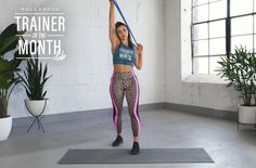 """Join 9 people right now at """"This resistance band back workout improves posture in 10 minutes flat"""" Pilates Studio, Pilates Reformer, Pilates Body, Mini Band, Single Arm Row, Single Leg Deadlift, Senior Fitness, Resistance Band Exercises, Improve Posture"""