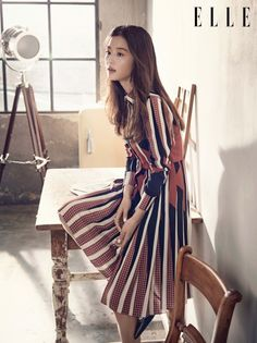 Nữ thần quốc dân Jeon Ji Hyun của Vì sao đưa anh tới - ELLE