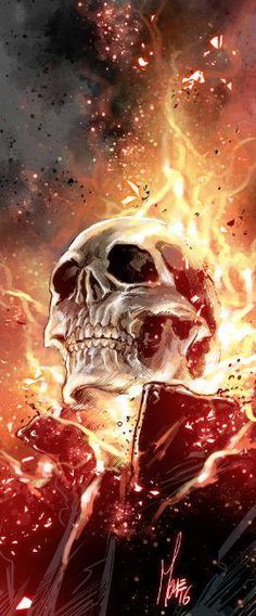 Ghost Rider by Marco Checchetto