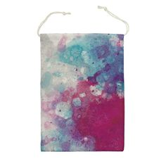 Bag For Gym or Shoes Watercolor Abstract Art Purple Blue Pink Storage Travel Drawstring Pouch Beach Sport Reusable by DesignsBySiena Etsy Watercolor Bubbles Painting Bubble Painting, Abstract Watercolor Art, Drawstring Pouch, Purple, Pink, Blue, Nylon Bag, Original Image, All Design