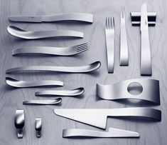 his is the Filio Flatware designed by Ralph Krämer. Spotted at Mono.