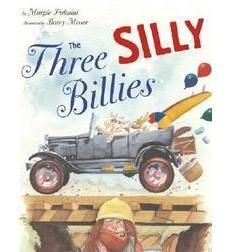 """In this humorous and pun-filled version of the classic """"Three Billy Goats Gruff,"""" the Three Silly Billies form a car pool to cross the bridge when they learn that they don't have..."""
