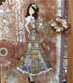 Travelin Girl, Julie Nutting Designs