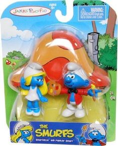 The Smurfs 2 Figure Pack - Smurfette And Painter Smurf
