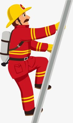 Cartoon fireman, Cartoon, Protective Clothing, Firemen PNG and Vector Art Drawings For Kids, Drawing For Kids, Fireman Quilt, Fire Safety Tips, Fire Prevention Week, Fireman Party, Firefighter Pictures, Community Helpers, Women In History