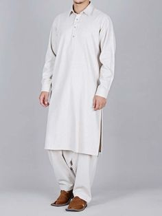 amazing white best pakistani men kurta shalwar kameez designs 2017 with same white shlawar Latest Fashion, Men's Fashion, Fashion Trends, Gents Kurta, Shalwar Kameez, Pakistani Dresses, Tunic Tops, King, Studio