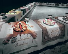 The Dinner Party, 1979 by Judy Chicago on Curiator, the world's biggest collaborative art collection. Judy Chicago, Chicago Art, Women In History, Art History, Women Artist, Arts Integration, Feminist Art, Collaborative Art, Action Painting