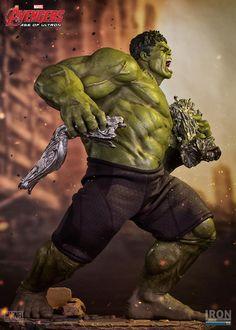 Avengers Age of Ultron: Hulk Diorama 1/6 - Iron Studios - ESTATUAS. Você encontra aqui na loja Mcfly Colecionáveis. Loja - São Paulo.