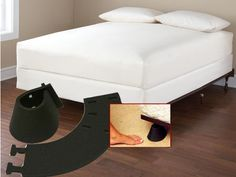 Special curved guards for bed and table legs to prevent stubbed toes. | 21 Products For People Who Are Clumsy AF