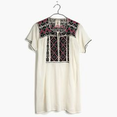 JM Drygoods™ Short-Sleeve San Vicente Tunic Top