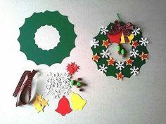 Новости Christmas Reef, Christmas Crafts For Kids To Make, Christmas Card Crafts, Christmas Fairy, Clay Christmas Decorations, Christmas Wreaths, Christmas Ornaments, Theme Noel, Diy Garland