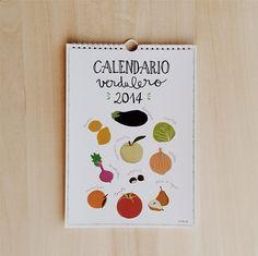 Calendario 2014 Lucia Be Calendario verdulero de Lucia Be