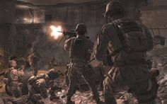#1707182, call of duty category - Widescreen call of duty backround