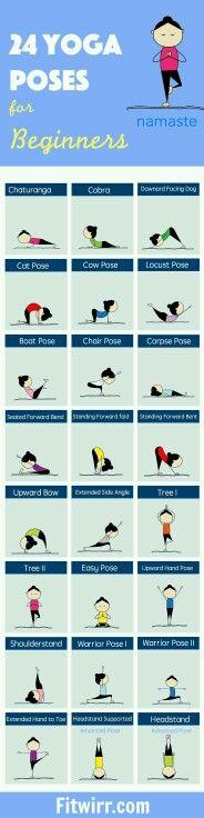 Yoga poses para iniciantes
