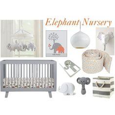 cute, gender neutral nursery idea - loving the elephant theme Baby Room Decor, Nursery Room, Girl Nursery, Nursery Decor, Nursery Inspiration, Nursery Ideas, Inspiration Boards, Room Ideas, Decor Ideas