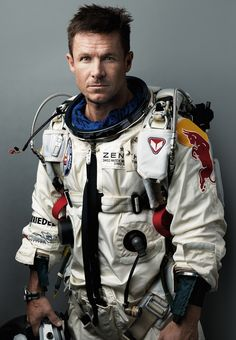 FELIX BAUMGARTNER is the first to break the sound barrier just by ... falling. Last October a balloon lifted him to the stratosphere. He jumped, parachuting a record 22.6 miles and hitting 843.6 mph. At 44, he now plans to pilot rescue helicopters.