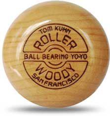 Roller Woody Natural - Tom Kuhn Yo-Yos