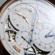 Jaeger-LeCoultre Duomètre à Chronographe Watch Review Wrist Time Reviews
