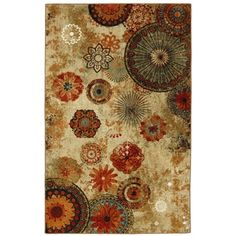 Shop for Mohawk Home Free Flow Caravan Medallion Area Rug (7'6 x 10'). Get free shipping at Overstock.com - Your Online Home Decor Outlet Store! Get 5% in rewards with Club O!