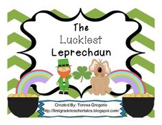 The Luckiest Leprechaun Book Activities