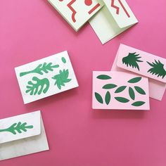 Risograph Cards ( via @handsoneveryday )