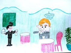 Jeremy Gets a Love Note Original illustration  by LilyMoonsigns
