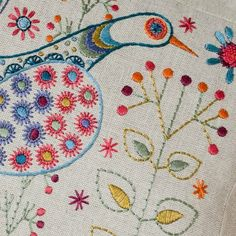 embroidery by numbers. I have to try this!