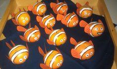 Kinder traktatie - gezonde traktatie - mandarijn - finding nemo thema - trakteren - birthday treat