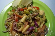 Broccoli Apple Salad is an unlikely combination of healthy ingredients and one of the few salads on this list in which vegetables and fruits assemble together to deliver a powerful punch http://goo.gl/UTkOOE