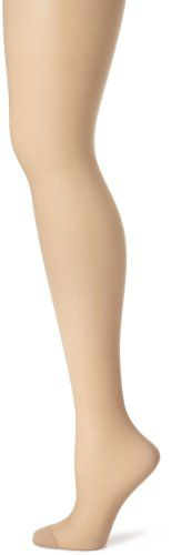 Hanes Women's Control Top Reinforced Toe Silk Reflections Panty Hose