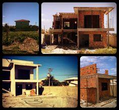 casa em barra do jacupe obra em andamento