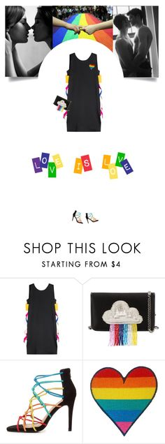 """Untitled #305"" by soledestate ❤ liked on Polyvore featuring MSGM, Les Petits Joueurs, Charlotte Russe and pride"