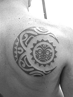 tiny stars moon tattoo by khaliala ward -Tattoo 4 Me