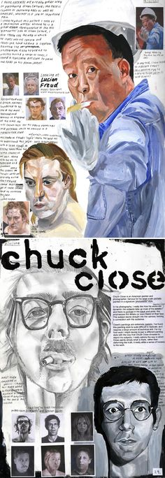 Perceptions of Identity: IB Visual Arts : Artist study: IB Art journal A Level Art Sketchbook, Sketchbook Layout, Artist Sketchbook, Sketchbook Ideas, Roy Lichtenstein, Artist Research Page, Pop Art, Art Diary, Ap Studio Art