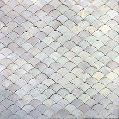 Amethyst Artisan: Scallops Mosaic Tile