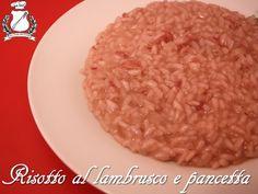 Risotto al lambrusco e pancetta - Il Gran Consiglio della Forchetta