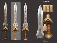 Concept by Tyson MurphynnI really like his art so i decided to model and texture this sword!
