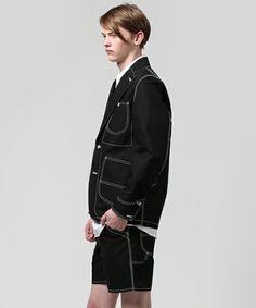 GANRYU Men's(ガンリュウ メンズ)のジャケット(テーラードジャケット)|詳細画像