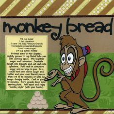 Disney Food, Disney Recipes, Fluted Tube Pan, Monkey Bread, Pillsbury, Fruit Recipes, Recipe Cards, Cooking, Movie