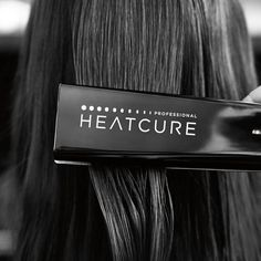 This is not a flat iron - it's an exclusive new Redken tool that will restore hair's look and feel for up to 10 washes. It's Heatcure Professional. Ask your stylist today for your Heatcure.