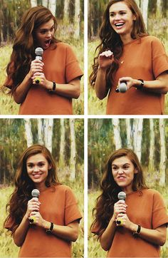 Holland Roden. (My own after the ()) She is a beutyiful roll model for me and i love teen wolf....
