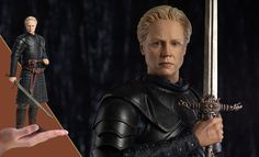 Game of Thrones Brienne of Tarth Sixth Scale Figure by Three Game Of Thrones Brienne, Brienne Of Tarth, Game Of Thrones Collectibles, Sideshow, Scale, Fans, Weighing Scale, Stairway, Libra